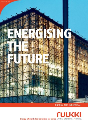 Energy and industrial - Energising the future brochure