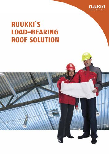 LOAD-BEARING  ROOF SOLUTION