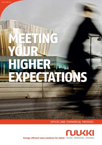 Offices and commercial premises - Meeting your high expectations brochure