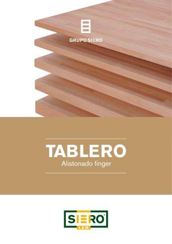 Tableros finger-joint de madera