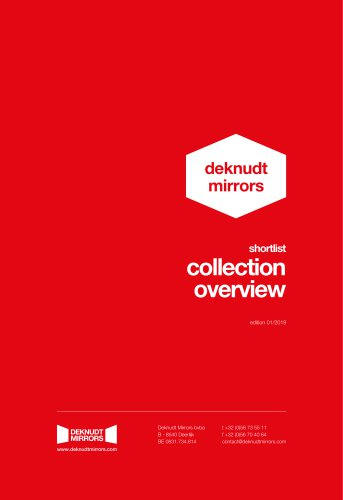 shortlist collection overview