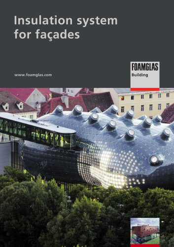 FOAMGLAS®: Insulation systems for façades