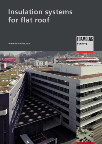 FOAMGLAS®: Insulation systems for flat roofs