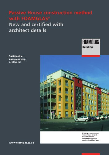 Passive House construction method with FOAMGLAS®