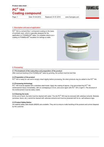 PC® 164 Coating compound