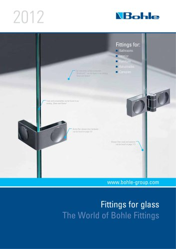 Download Hardware Catalogue: Fittings for Glass