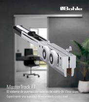 MasterTrack FT - El sistema de puertas correderas de vidrio de clase superior Experimente una suavidad de movimiento a otro nivel - 1