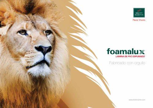 Foamalux Folleto