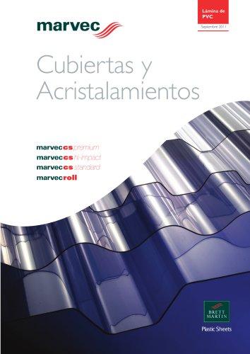 Marvec CS Cubiertas & Acristalamientos Folleto