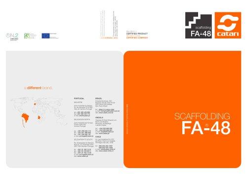 SCAFFOLDING FA-48