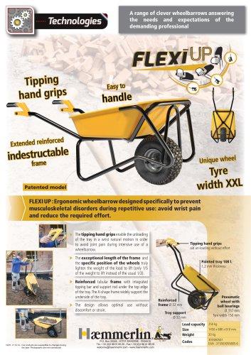 FLEXI UP wheelbarrow