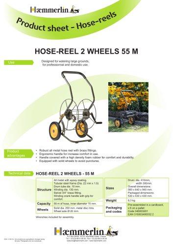 HOSE-REEL 2 WHEELS 55 M