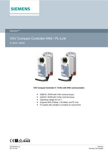VAV Compact Controller KNX / PL-Link