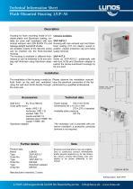 Flush-Mounted Housing 3/UP-AS