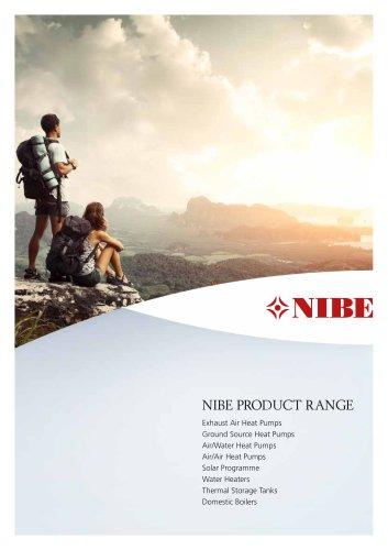 NIBE PRODUCT RANGE