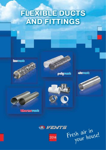 Flexible ducts and fittings