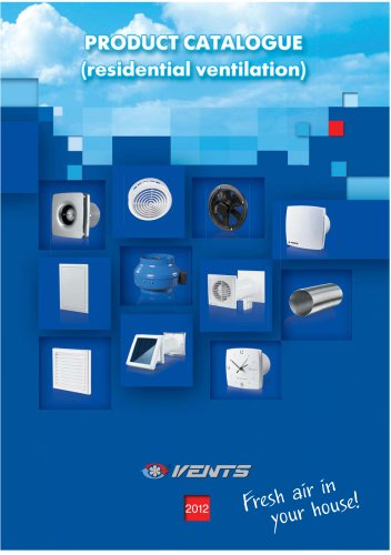 Product catalogue (residential ventilation)