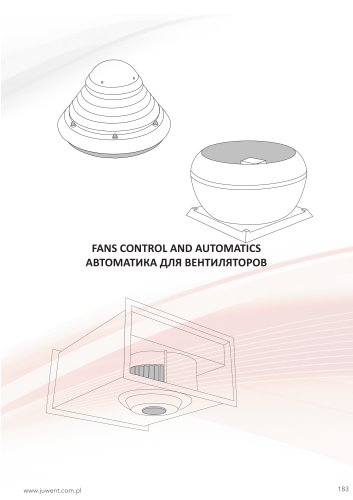 Fans control and automatics