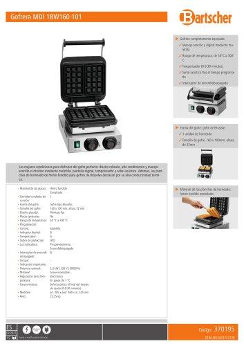 Gofrera MDI 1BW160-101