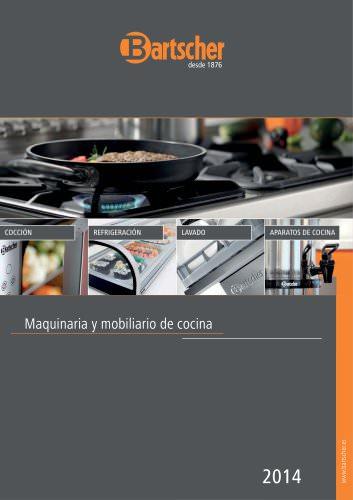 Maquinaria y mobiliario de cocina 2014