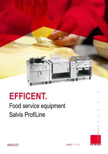Salvis Large cooking equipments ProfiLine