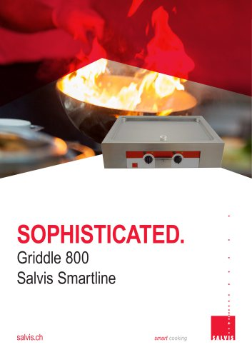 Salvis Smartline Griddle 800