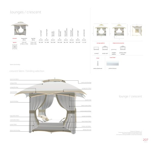 lounges / crescent
