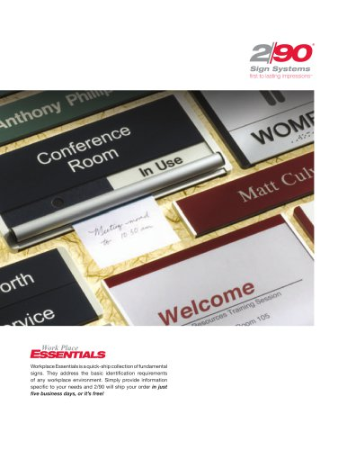 Workplace Essentials Brochure