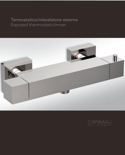 External thermostatic mixers
