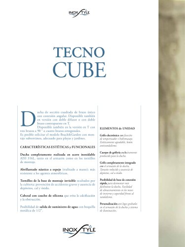 Ducha Tecno Cube