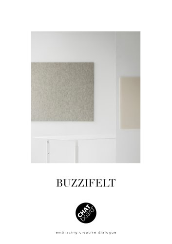 CHAT BOARD® BuzziFelt