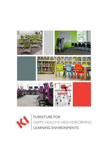 FURNITURE FOR HAPPY, HEALTHY, HIGH PERFORMING LEARNING ENVIRONMENTS