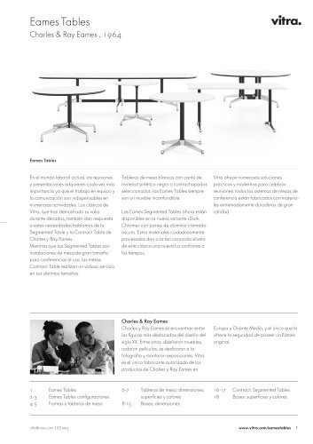 Eames Tables
