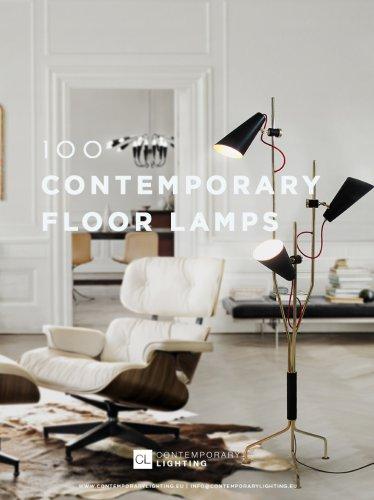 100 Contemporary Floor Lamps