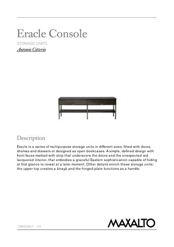 Eracle Console