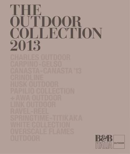 OUTDOOR COLLECTION 2013