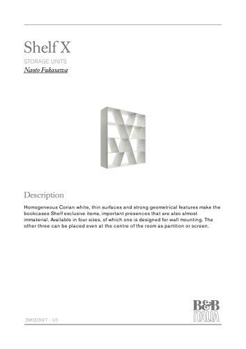 Shelf X