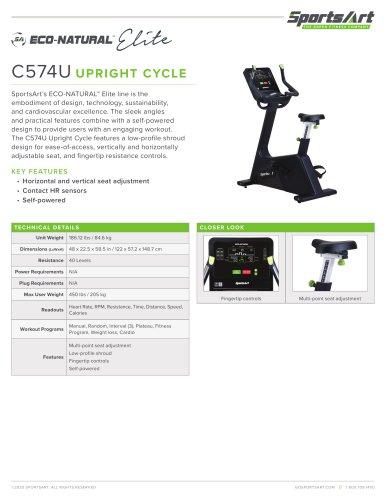C574U UPRIGHT CYCLE
