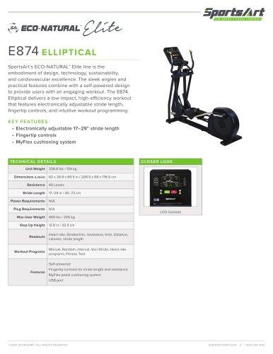 E874 ELLIPTICAL