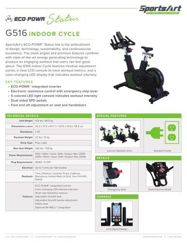 G516 INDOOR CYCLE