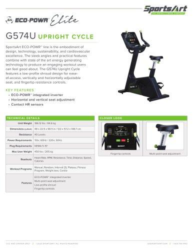 G574U UPRIGHT CYCLE