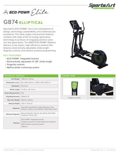 G874 ELLIPTICAL