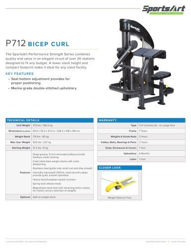 P712 BICEP CURL