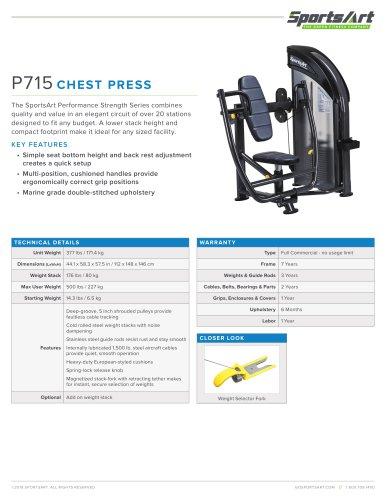 P715 CHEST PRESS