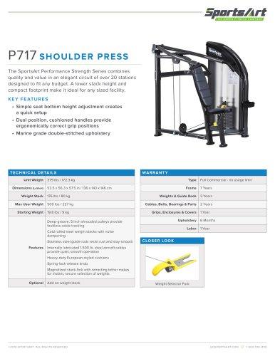P717 SHOULDER PRESS