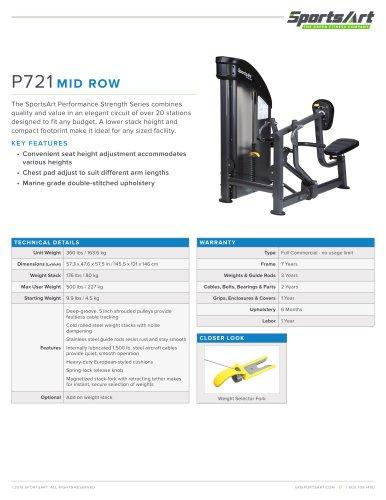 P721 MID ROW
