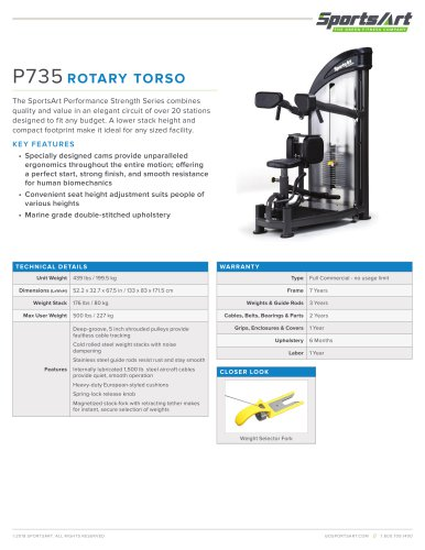 P735 ROTARY TORSO