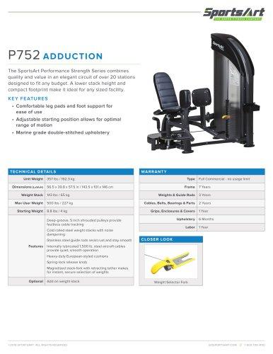 P752 ADDUCTION