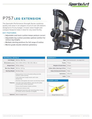 P757 LEG EXTENSION
