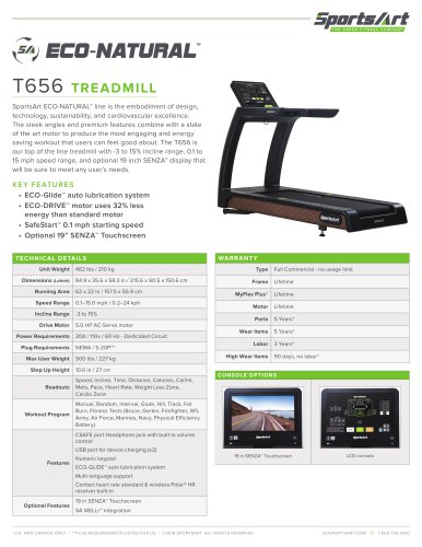 SA_18-T656-Treadmill